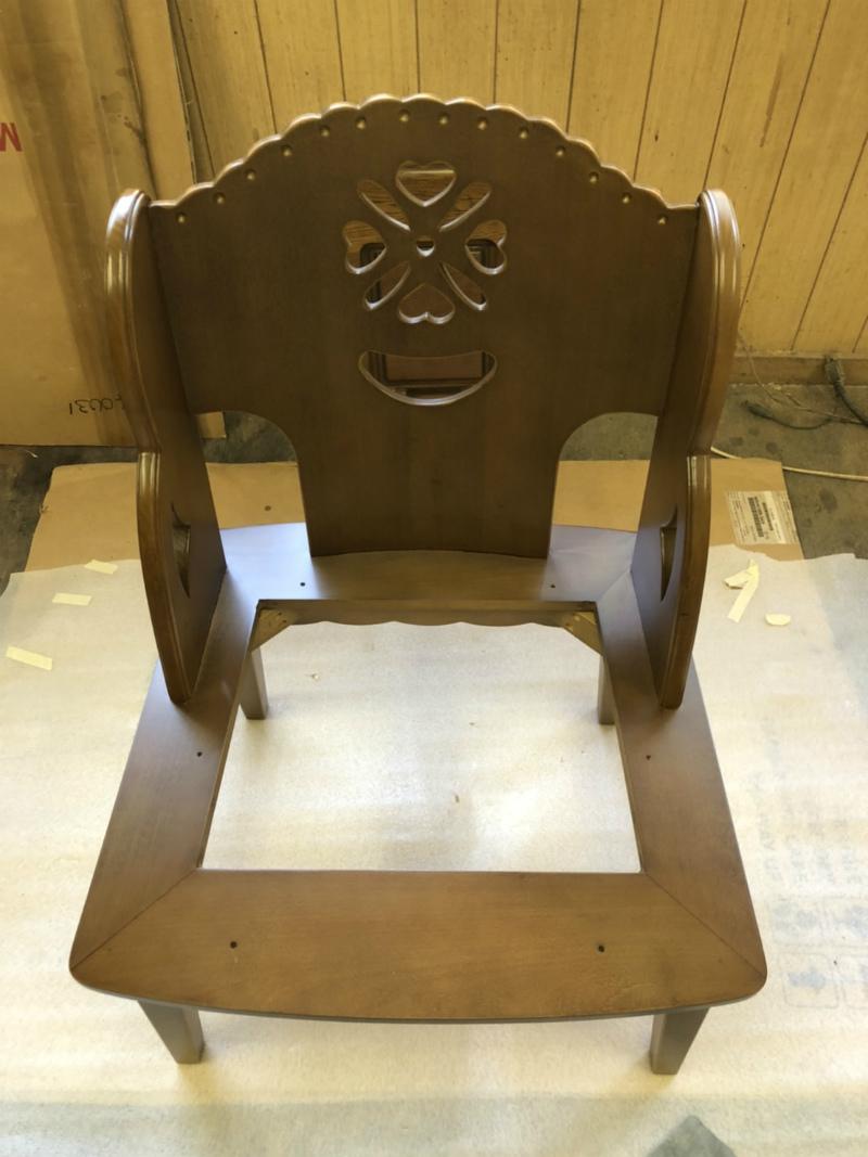 椅子の修理
