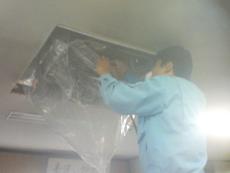 天井カセット洗浄2
