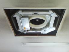 天井カセット洗浄3