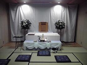 北斎場 小式場で思いを込めた家族葬 ひかり10プラン(実例)
