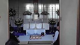 佃斎場で24万プラン 家族葬(実例)