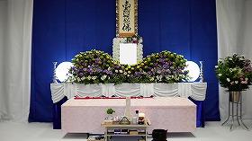 小林斎場・小式場(和室)を使って『家族葬』すばるプラン24(実例)