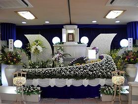 『家族葬』やすらぎホール別館でまごころプラン45(実例)