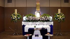 北斎場 中式場 すばる24プラン(実例)での家族葬