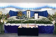 地元の羽曳が丘第一集会所でのお葬式