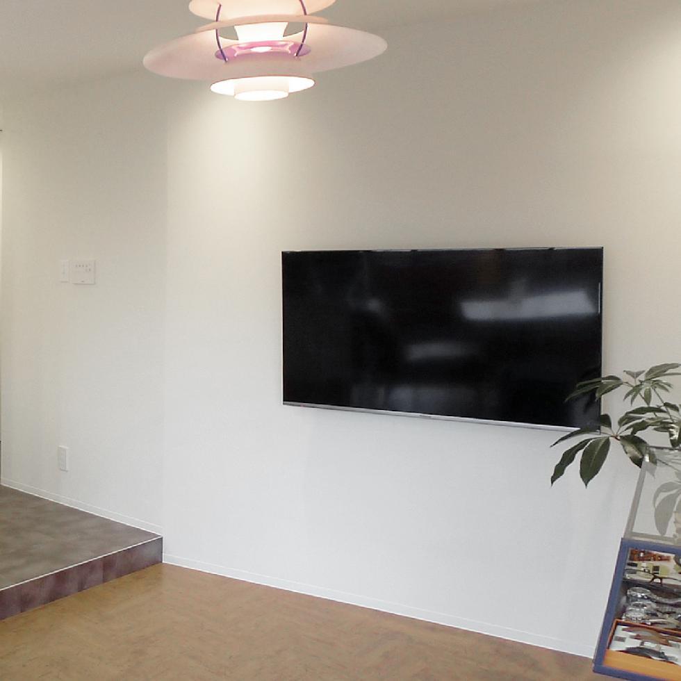 相模原市 テレビ壁掛け リフォーム