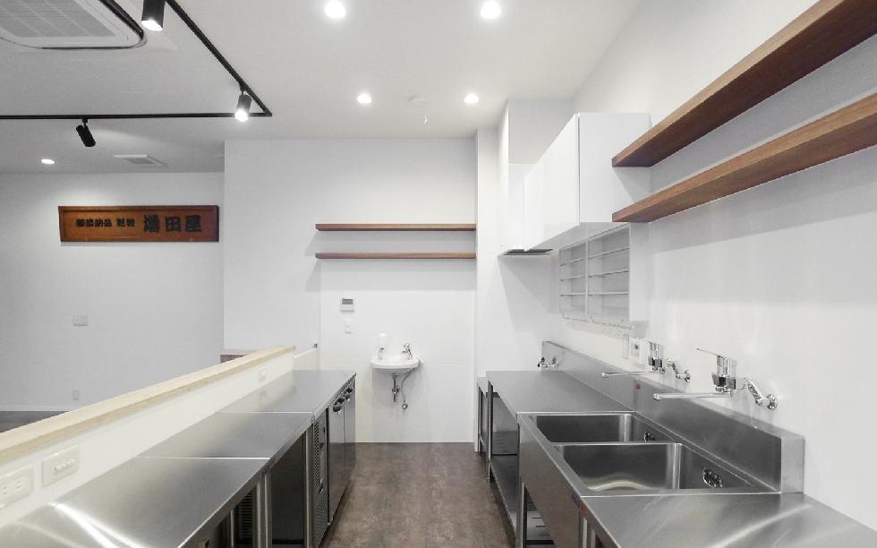 カフェ 厨房