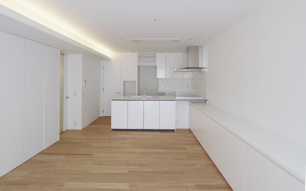 対面式キッチン&対面収納