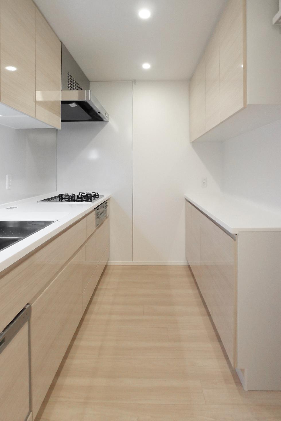 独立型キッチン&家電収納