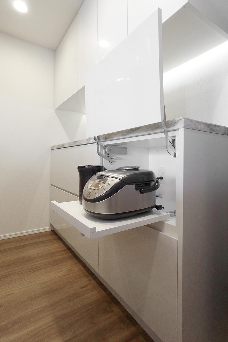 相模原市 炊飯器収納リフォーム