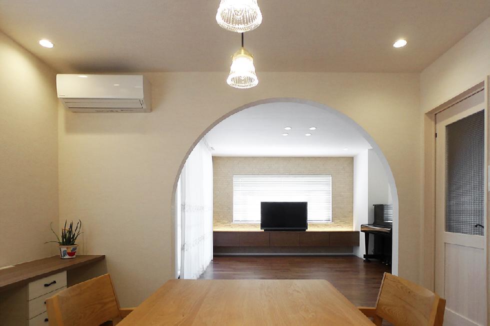 デザイン リノベーション & オーダーメイド キッチン,収納、家具 (一戸建て 相模原市)