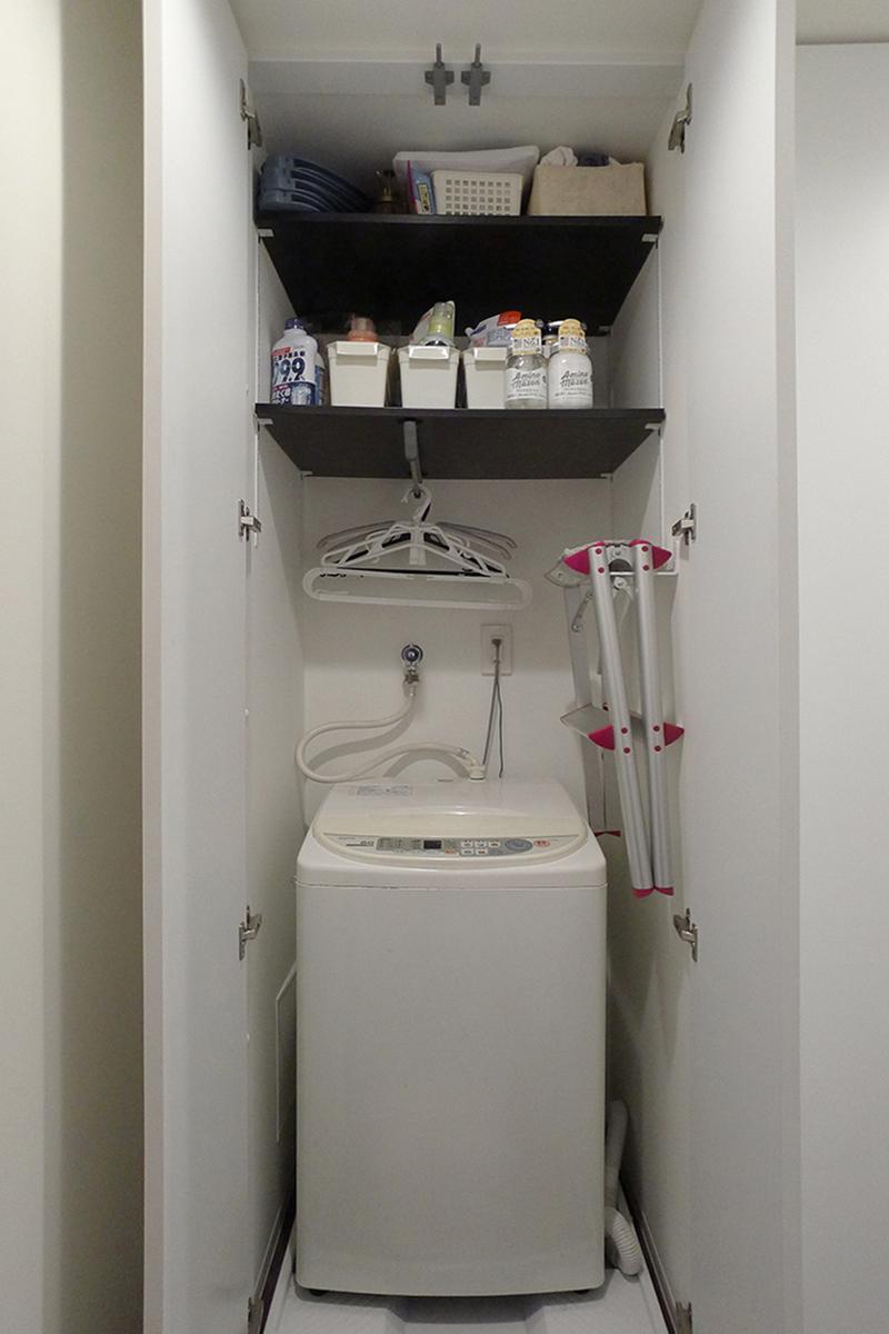 相模原洗濯機収納リフォーム