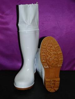 ゾナG3カバー付耐油長靴(白)日本製