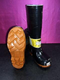 ジェイワーク 709 安全長靴 (黒)