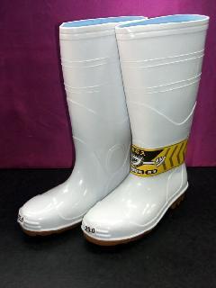 ジェイワーク 709 安全長靴 (白)