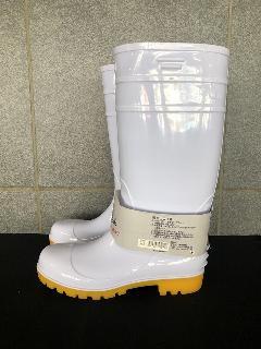安全耐油長靴ロングタイプ  (ホワイト/クレープ)中国製