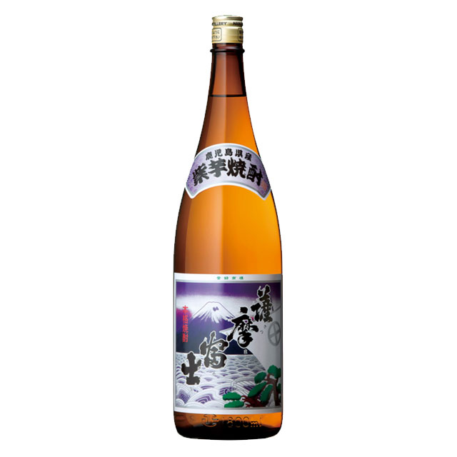 紫 薩摩富士 25度 1.8L