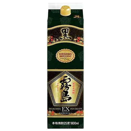黒霧島 EX 25度 1.8Lパック
