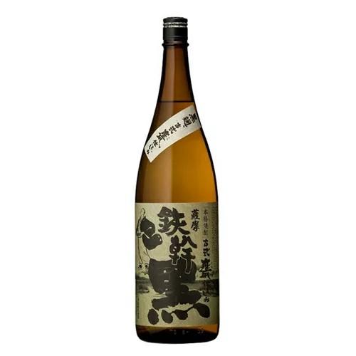 鉄幹黒 黒麹 25度 1.8L