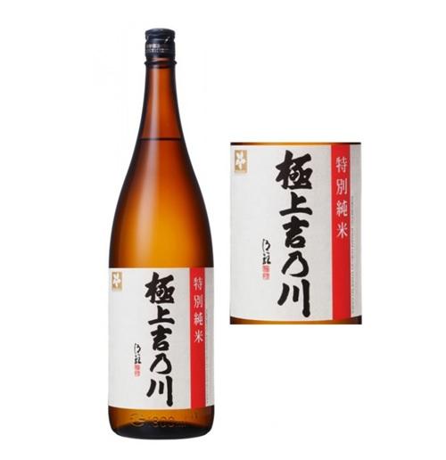 日本酒 特別純米 極上吉乃川 1.8L