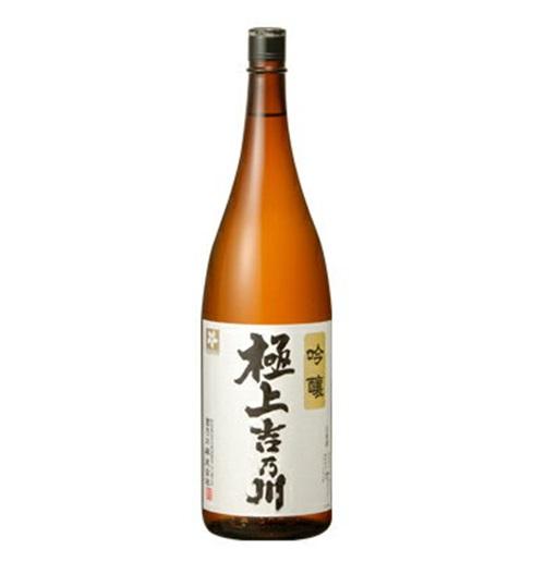 日本酒 吟醸 極上吉乃川 1.8L