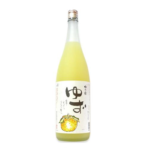梅乃宿 あらごしゆず酒 1.8L/720ml