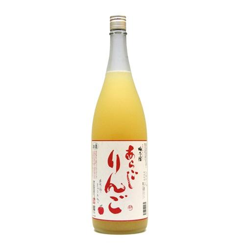 梅乃宿 あらごしりんご酒 1.8L/720ml