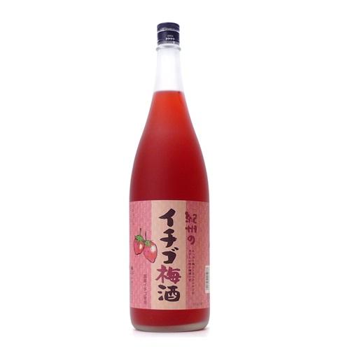紀州 イチゴ梅酒 1.8L