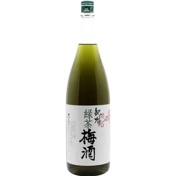 紀州 緑茶梅酒 12度 1.8L