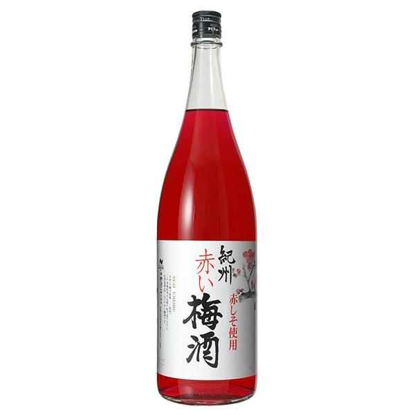 紀州 赤い梅酒 12度 1.8L