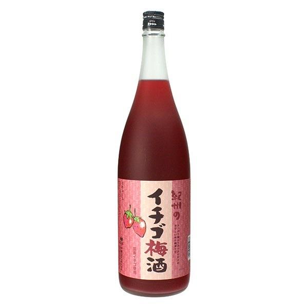 紀州 イチゴ梅酒 12度 1.8L
