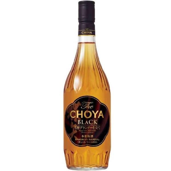 チョーヤ 梅酒 ザ ブラック NEW 720ml