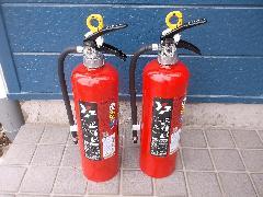上尾市の共同住宅で消火器具の交換