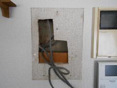 東京都のマンションの受信機移設工事