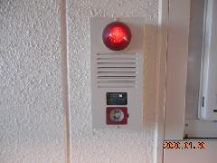 さいたま市の共同住宅で非常警報設備と消火器を交換作業