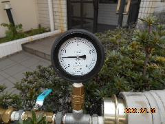 さいたま市のマンションで連結送水管の耐圧試験