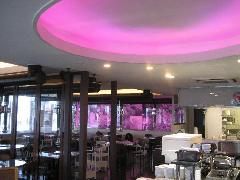 飲食店 焼肉店LED演出照明など電気工事