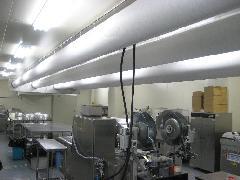 食品工場 電気工事