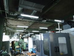 神奈川県・電動機械製作工場様 LED化工事