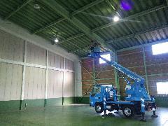 千葉県 大型倉庫現状復旧工事