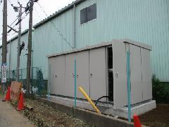 成田市某工場様 キュービクル設置工事