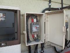 市川市内  低圧引込電灯設備工事