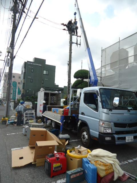 高圧ケーブル交換・キュービクル改修工事