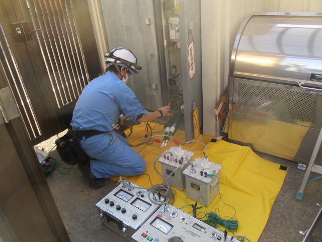 高圧ケーブル耐圧試験