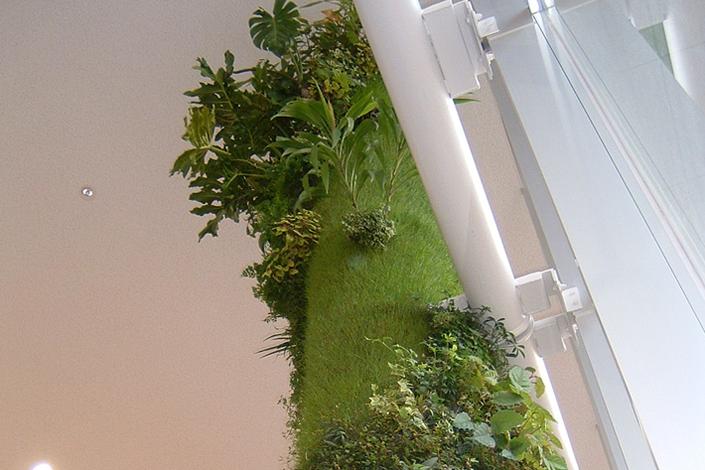 全国都市緑化フェアのエントランスポール