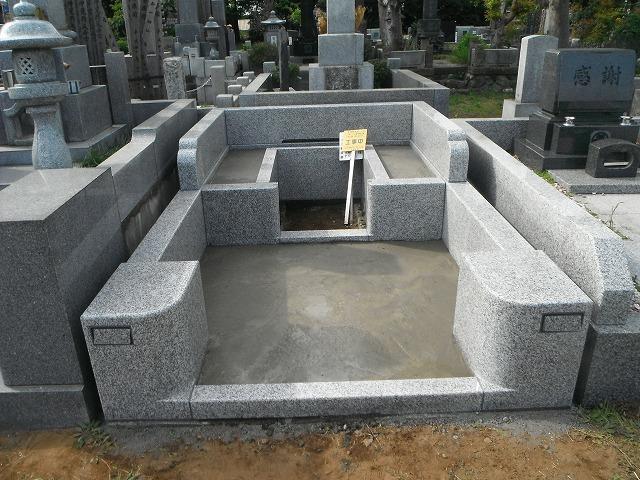 八柱霊園 墓石 工事 外柵