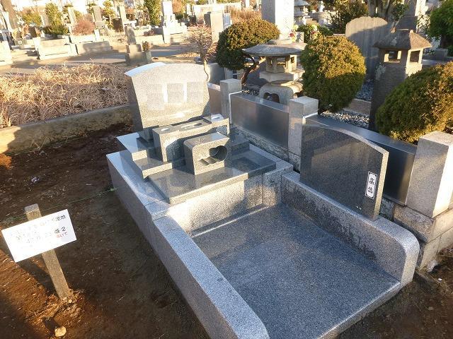 八柱霊園 2�u 3�u 2.5�u 墓所 墓所 墓石 洋型