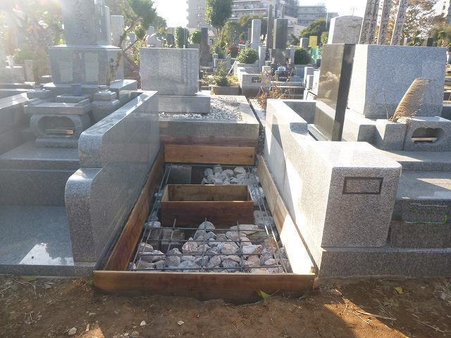 八柱霊園 2�u 墓所工事 新規工事