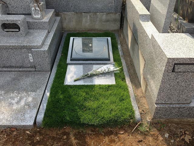八柱霊園 2�u デザイン墓 芝生墓地 洋風