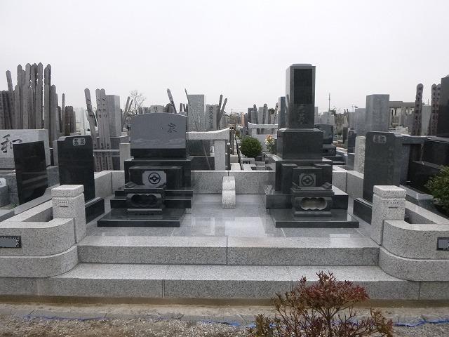DBOX 基礎工事 埼玉霊園 墓所工事 墓石